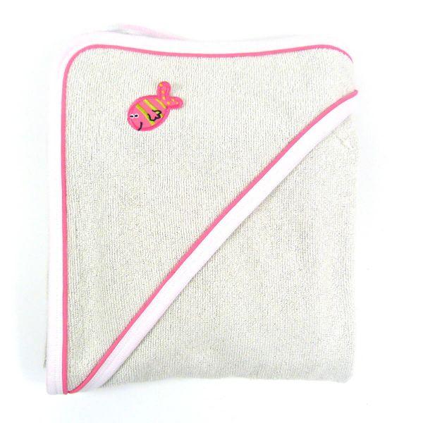 Apres Splash Hooded Towel Pink