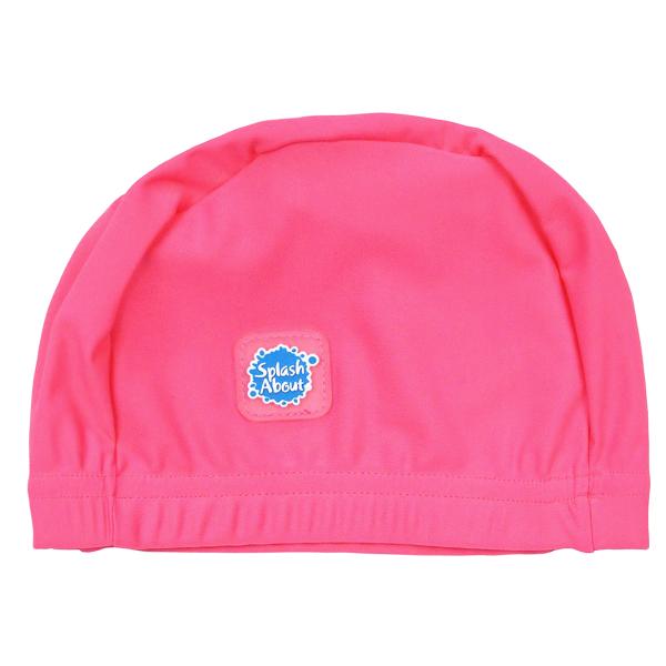 Swim Hat Pink Geranium
