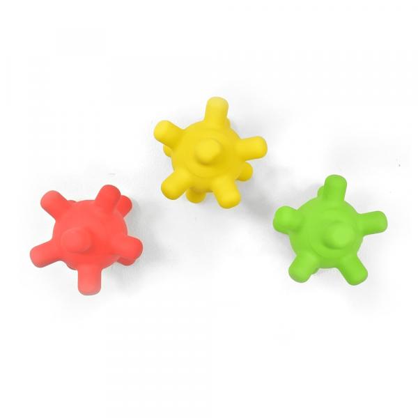 Splash Jacks Pool/Teether Toys Red, Yellow & Green (Pack of 3)