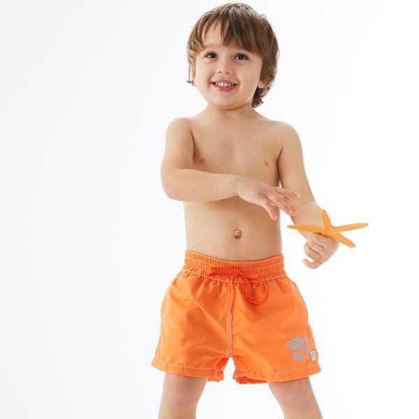 Board Shorts Lion Fish Orange