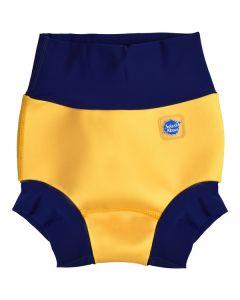 New Happy Nappy™ Yellow & Navy