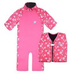 Pink Blossom UV Combie and Go Splash Float Jacket Bundle