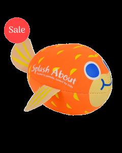 Neoprene Pufferfish Splash Balls Orange