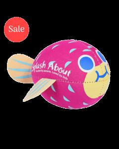Neoprene Pufferfish Splash Balls Purple