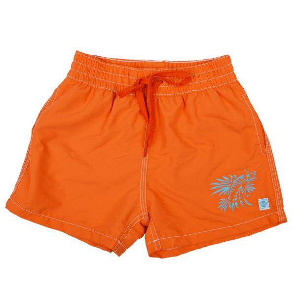 Board Shorts Motif Orange Lion Fish