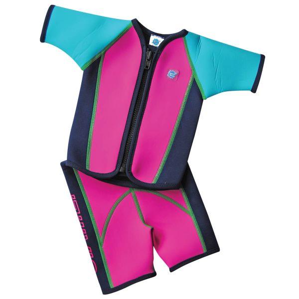 Wetsuit Jacket & Shorts Surf Pink