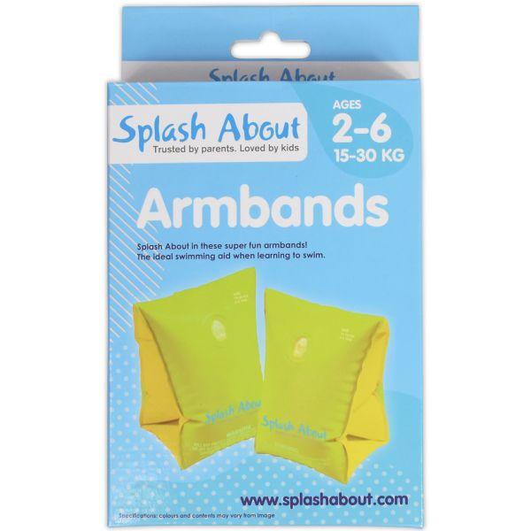 Splash About Plain Armbands 2-6 Years