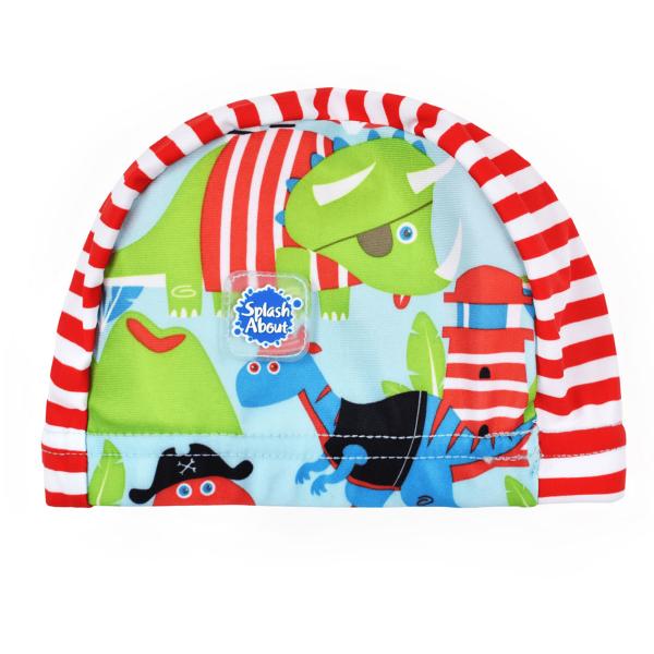 Swim Hat Dino Pirates