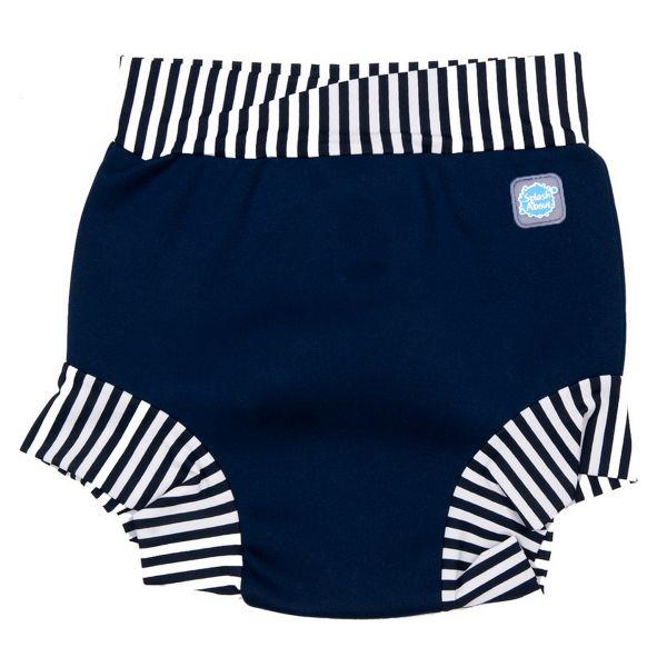 Splash Shorts Child Navy Stripes