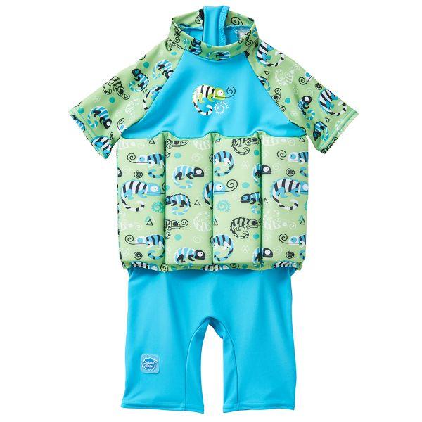 UV Floatsuit with Zip Green Gecko LOOKBOOK