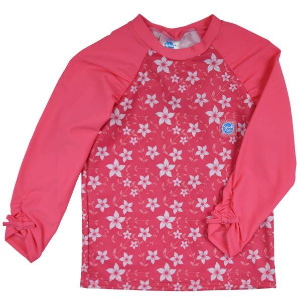 Long Sleeve Rash Top Pink Blossom