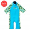 UV Sun & Sea Suit Green Gecko