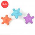 Splash Jacks Pool/Teether Toys Blue, Purple & Orange (Pack of 3)