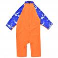 Toddler 3/4 length UV Suit Shark Orange