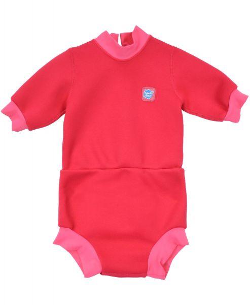 Happy Nappy Wetsuit Pink Geranium