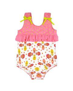 Ruffle Swimming Costume Kayla La