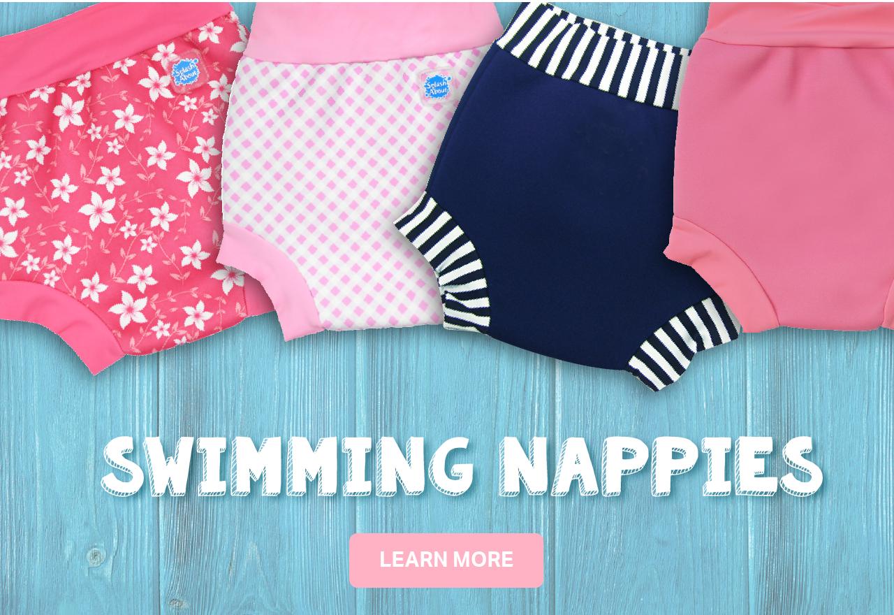 Swimming nappies